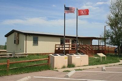 badalnds south unit visitor center