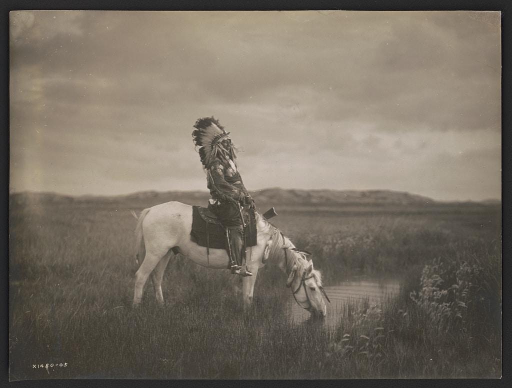 Badlands Oglala Warrior
