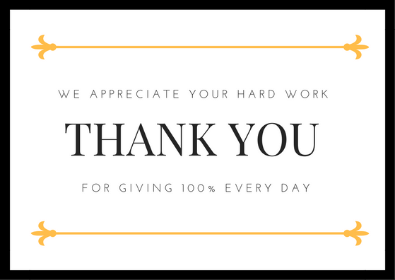 Employee Appreciation Quotes Stunning Employee Appreciation Thank You Quotes Letters Picture