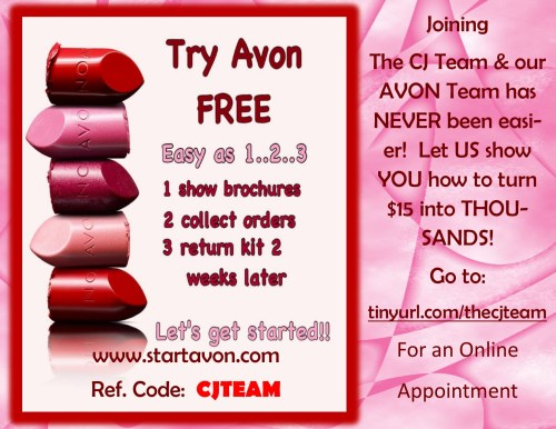 Join Our AVON Team