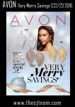 Avon Very Merry Savings Campaign 22/23, 2016