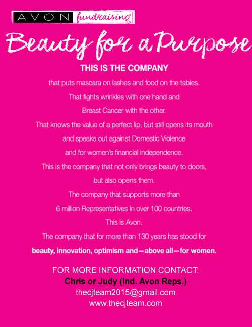 Beauty for a purpose fundraiser info 2.12.16