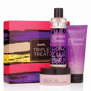mark. Triple Treat Passionate for Plumberry Bath & Body Trio