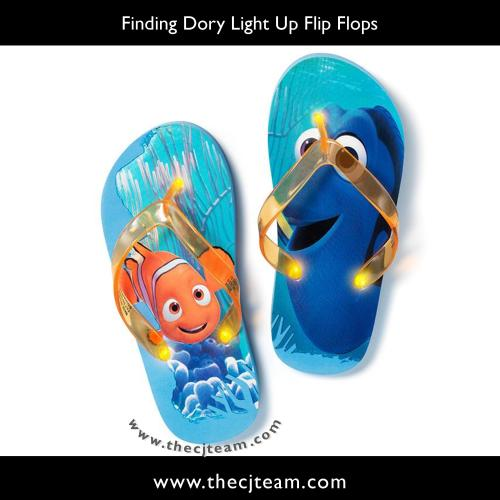 Finding Dory Light Up Flip Flops x