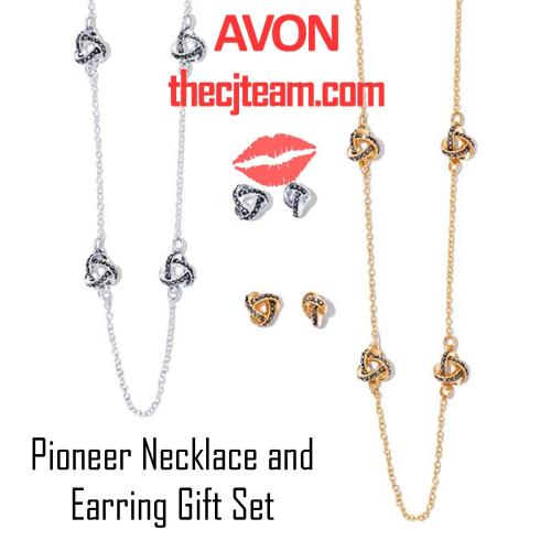 Pioneer Necklace and Earring Gift Set x