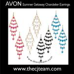 Summer Getaway Chandelier Earrings