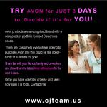 Try Avon for 3 Days