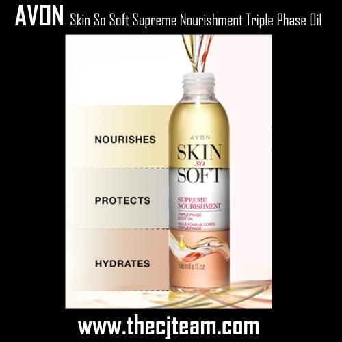 Skin So Soft Supreme Nourishment Triple Phase Oil 2x