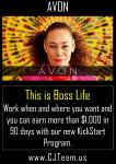 Earn more than $1000 in  your first 90 days with Avon