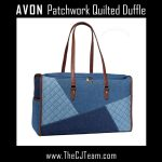 Patchwork Quilted Denim Duffle