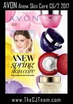 Anew Spring Skin Care Sales Flyers
