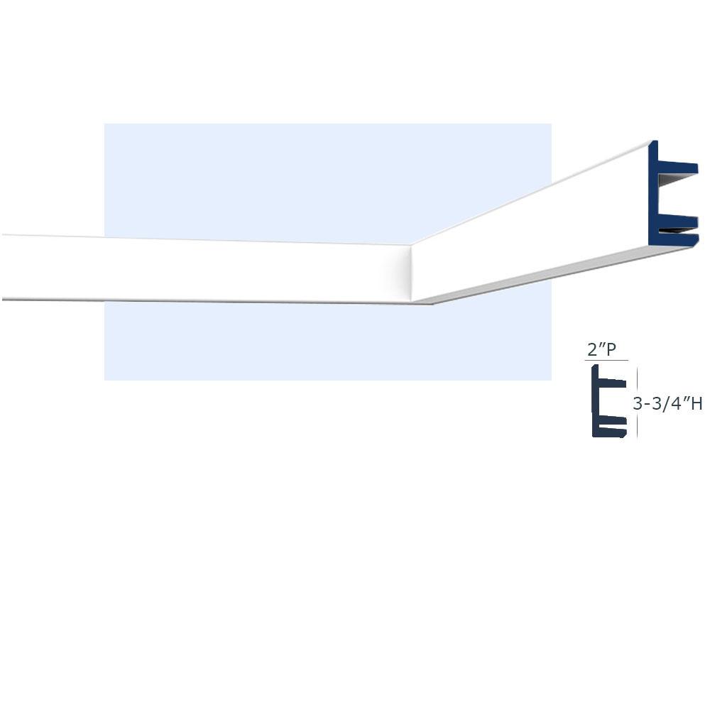 san francisco l2 molding for indirect lighting
