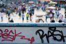 Graffiti in Istanbul, Turkey
