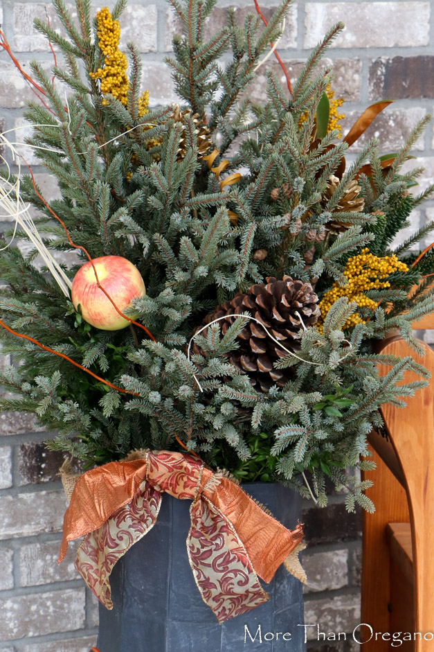 Christmas Spruce Container