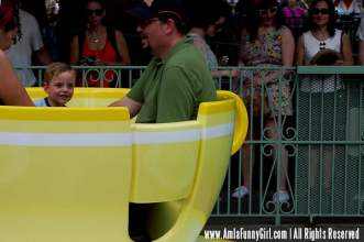 Think he liked the teacups?