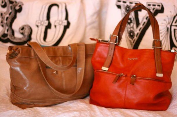 Mia Tui and Sugarjack changing bag