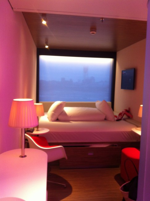 CitizenM, London hotel room