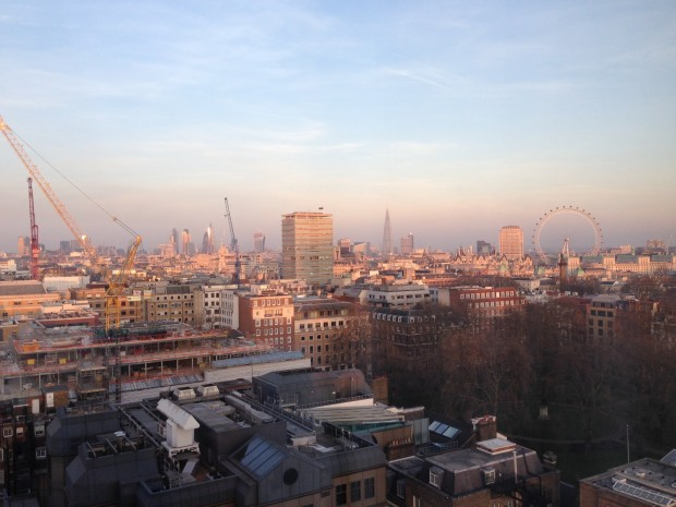 Sunrise from The Cavendish, London