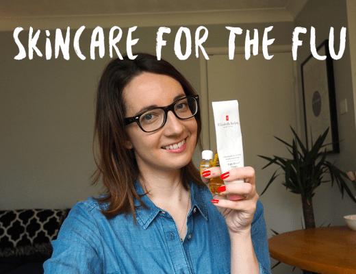 Skincare for flu