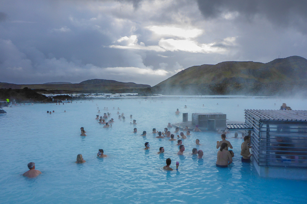 Iceland with Kids - blue lagoon
