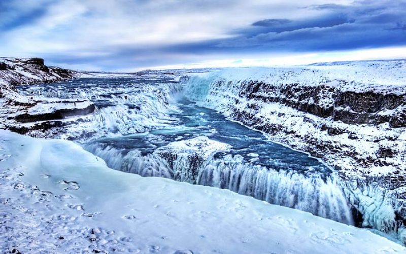 Iceland with Kids - gulfoss