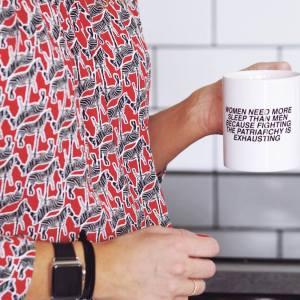 Fighting the patriarchy mug