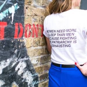 Fighting The Patriarchy Is Exhausting Tee