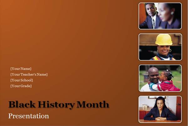 Download Black History Powerpoint Microsoft Office