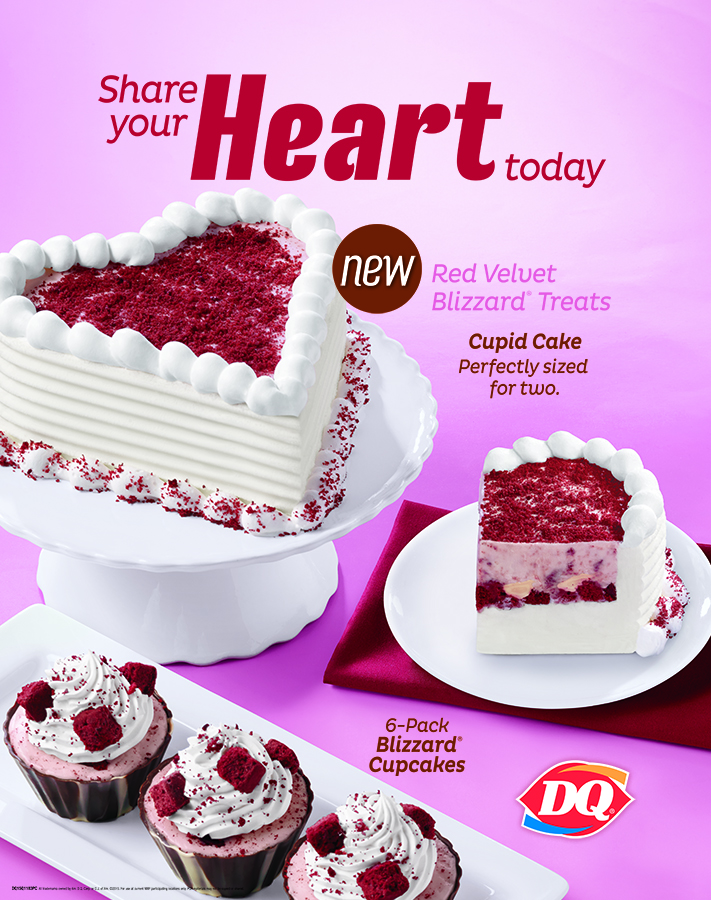 Tremendous Treat Your Love And Love Your Treat At Dairy Queen More Than Personalised Birthday Cards Cominlily Jamesorg