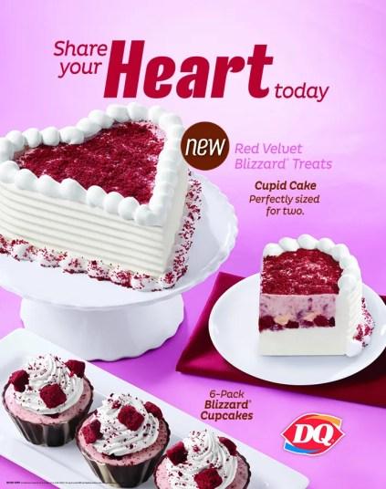 DQ Red Velvet Cake