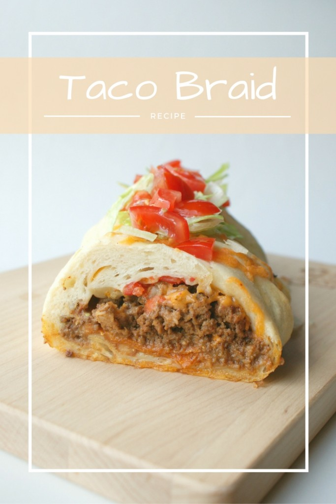 Take #TacoTuesday up a notch with this super easy and delicious Taco Braid recipe!