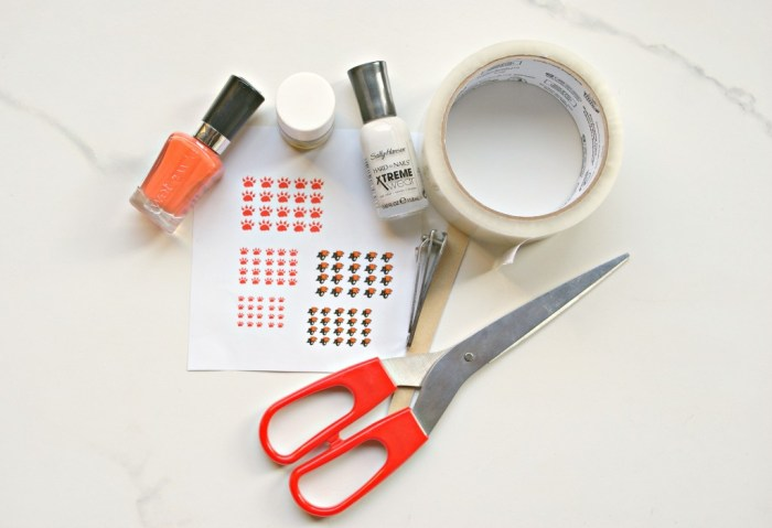 DIY Nail Decals