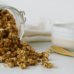 This Honey Almond Quinoa Granola is a healthy and super easy way to add some crunch to your next meal.