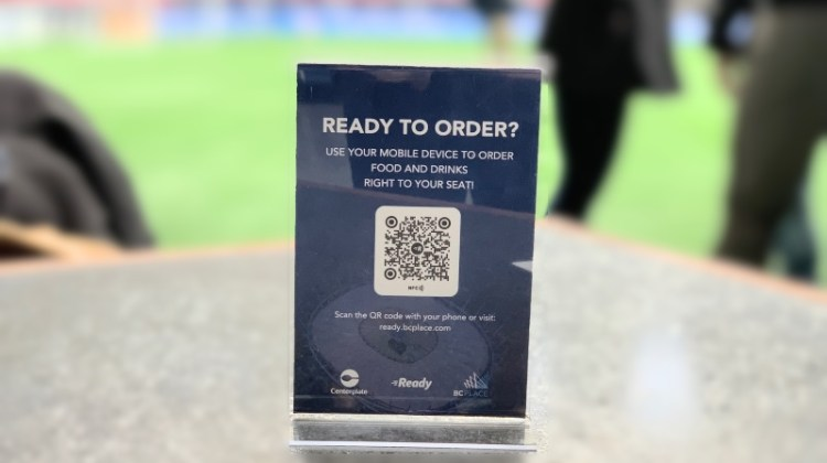 BC Place and Centerplate pair food and tech for the 2019 Whitecaps FC season