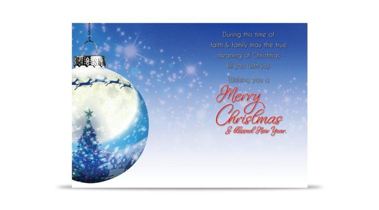 McLane Group 2017 Christmas Card Back