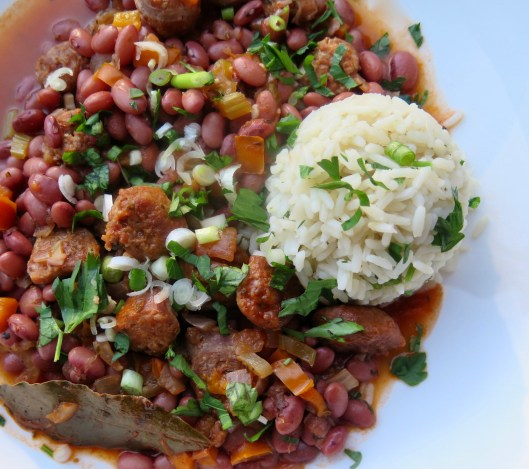 Food-Beans-Red Beans and Rice whole bowl