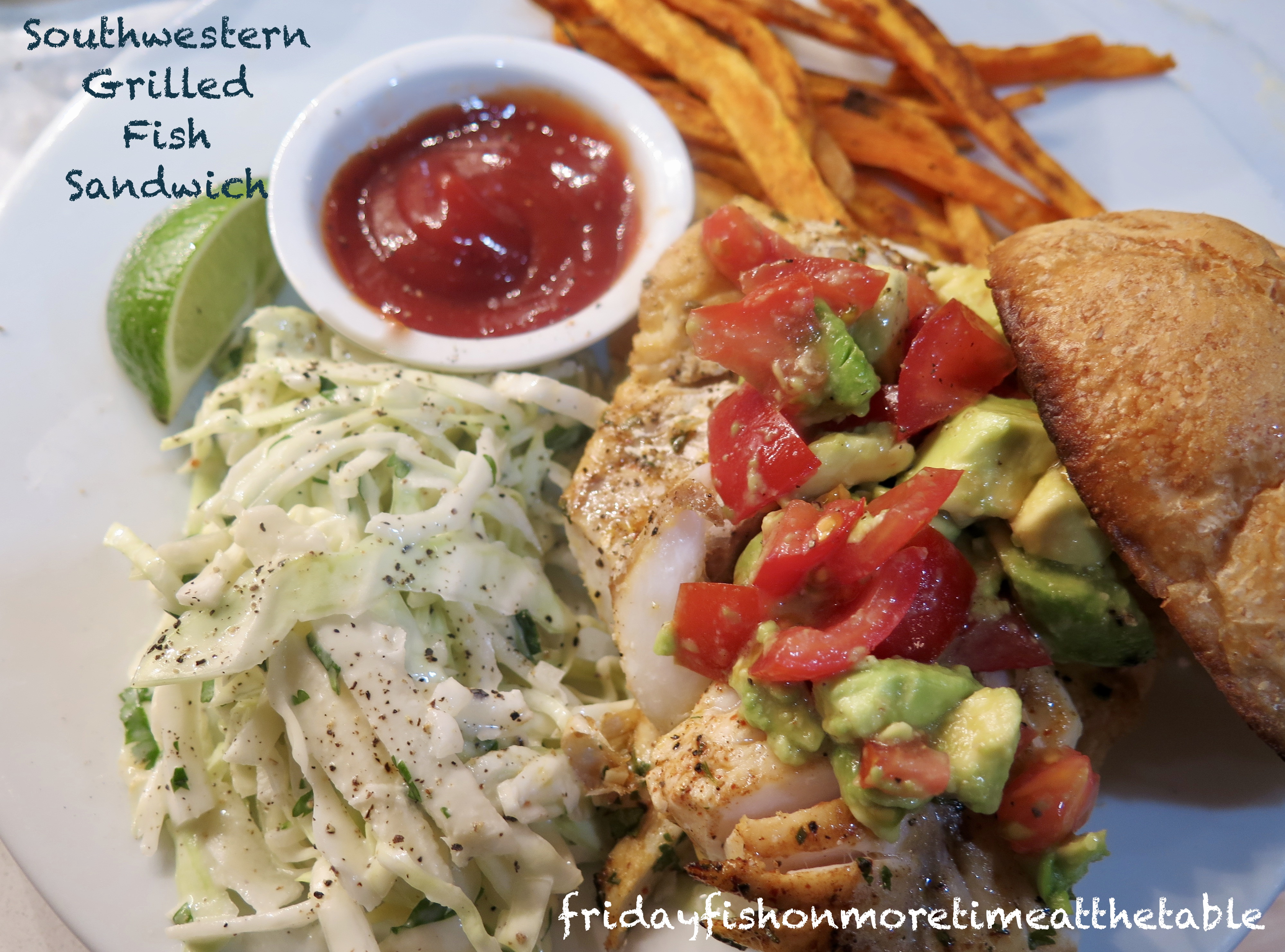 Grilled Striped Bass Recipes Barefoot Contessa friday fish: southwestern grilled fish sandwiches with green
