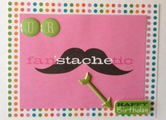 Mustache Card Inside