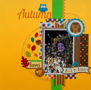 Doodlebug Autumn