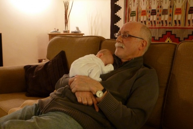 Annabelle and Grandpa