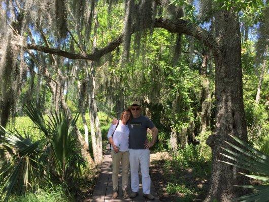 Ben & Penny in the swamp