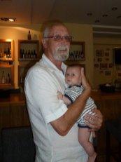 Grandpa & Jessica - best of friends