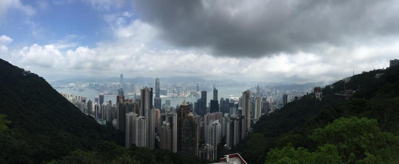 From the Peak, Hong Kong