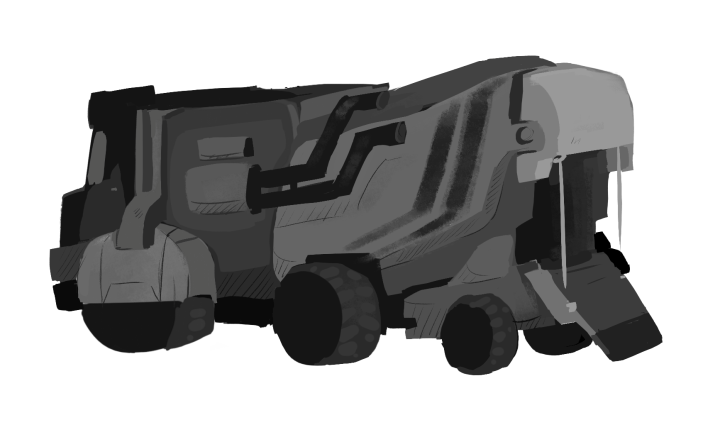 Military transportation unit (concept).