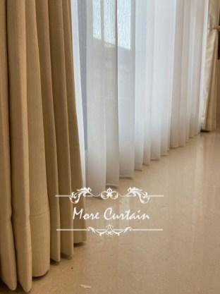 客廳落地窗簾推薦 客廳布簾