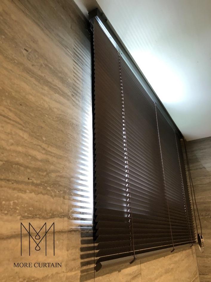 廁所窗簾 浴用便宜窗簾 鋁百葉 防水窗簾 沐爾窗簾 百葉推薦