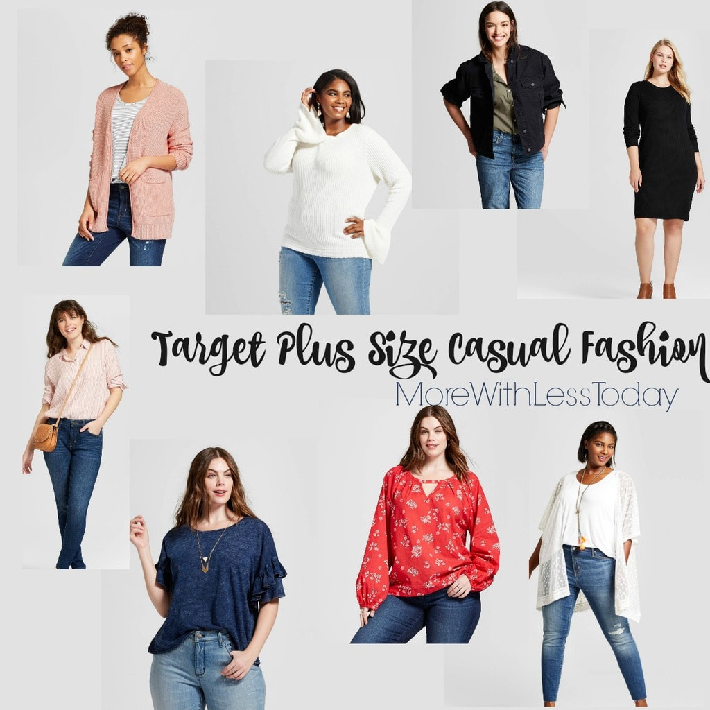 Target Plus Size Fashion is on trend and on budget. With several new designers for curvy girls, you can find fashionable wardrobe staples you will wear over and over.