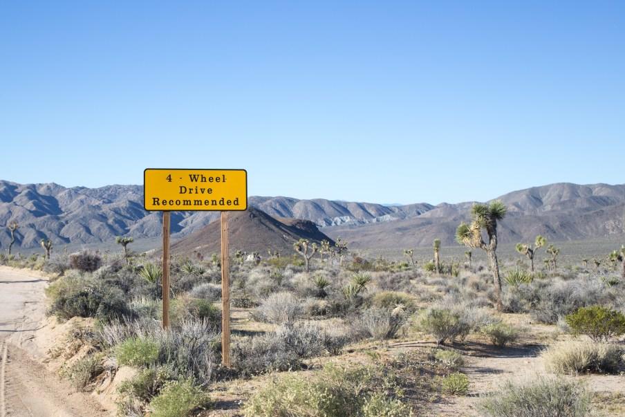 4 Wheel Drive Sign