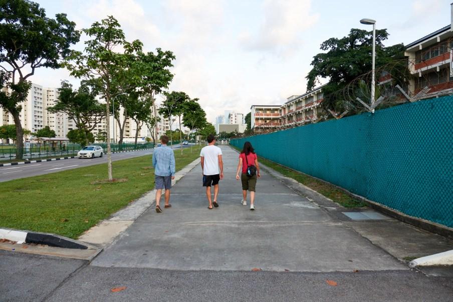 Walking around Singapore
