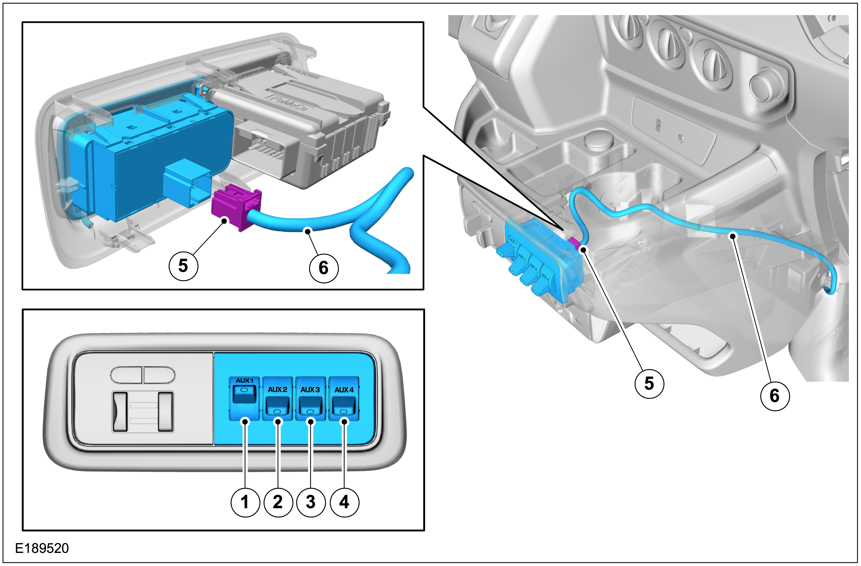 Ford Aux Switch Wiring Wiring Diagram